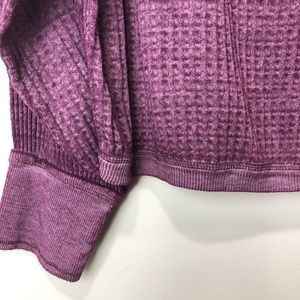 Free People Tops - Free People Southside Thermal Violet NWT